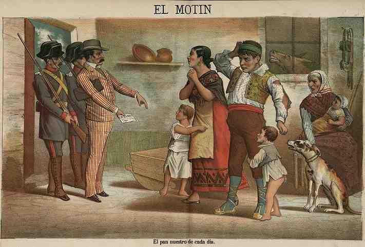 desahucio en el Siglo XIX
