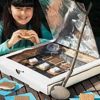 horno solar caja pizza
