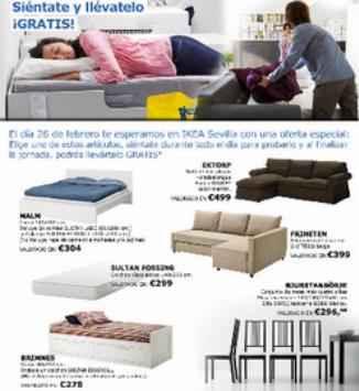 Liketing ikea crea una original acci n de marketing en - Ikea de sevilla ...