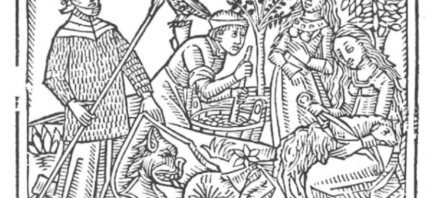 Descarga gratis libro para colorear con ilustraciones medievales